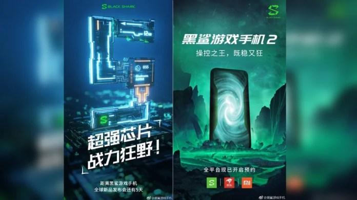 Xiaomi Black Shark 2 Gaming Smartphone Teasers Confirm Snapdragon 855 SoC, Registrations Go Live