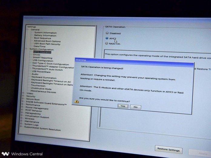 Dell Xps 15 9570 Boot Menu