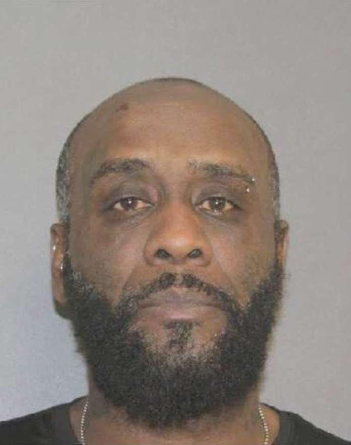 Gyoom A. Vyent, 45, was arrested and charged with criminal contempt and criminal mischief felonies and a criminal tampering misdemeanor. Photo: Courtesy Of Saratoga County Sheriff