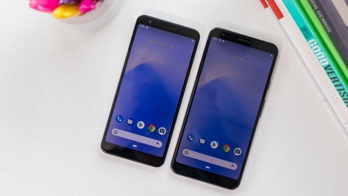 Google Pixel 3a XL and 3a