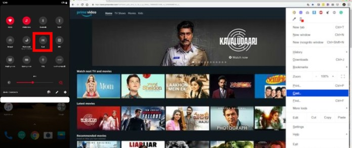 Amazon Prime Video Tips and Tricks - Cast to Chromecast