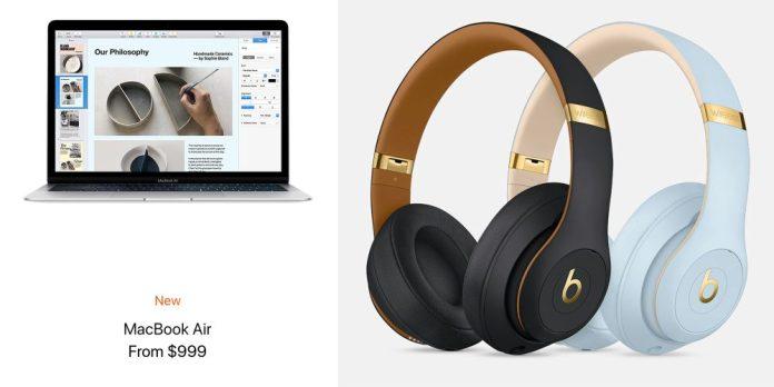 2019 macbook air and beats