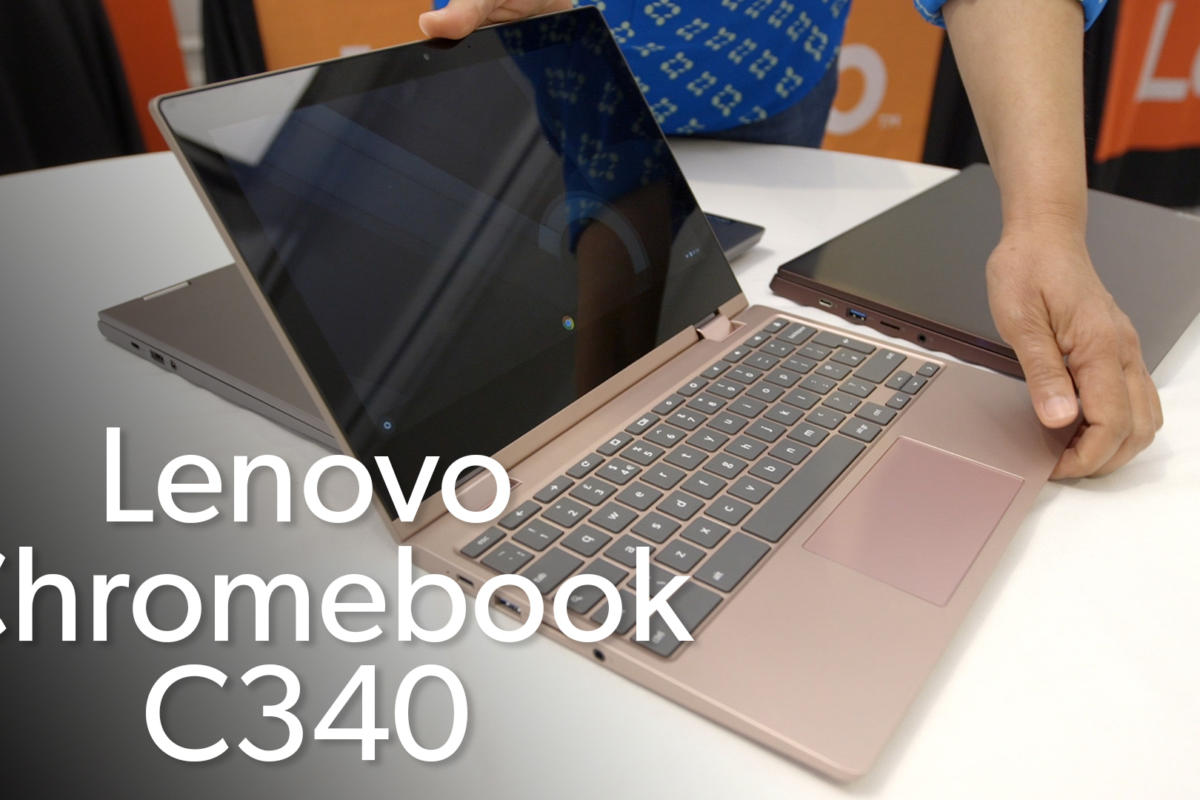Lenovo C340 and S340 Chromebooks bring some colorful flair