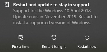 Windows 10 version 1903 is now available for more devices