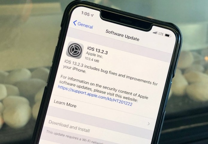 Install iOS 13.2.3 for Better Security