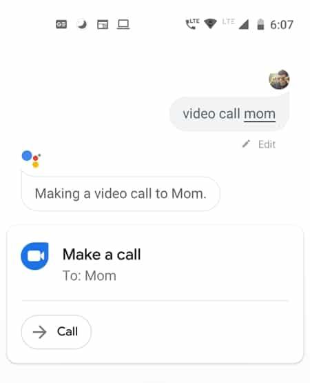 duo call