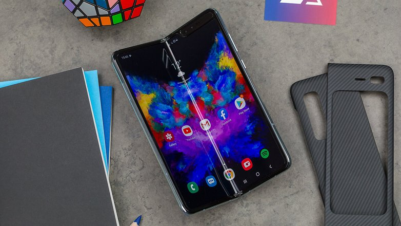 AndroidPIT samsung galaxy fold test foto 28
