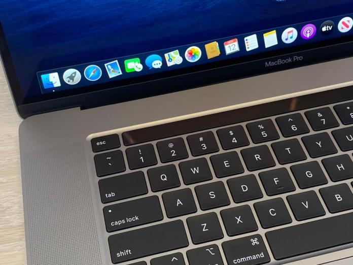 The new MacBook Pro 16 inch (2019)