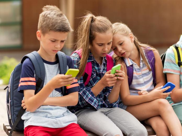 Many parents are still choosing to give children their old smartphones rather than buy new models.