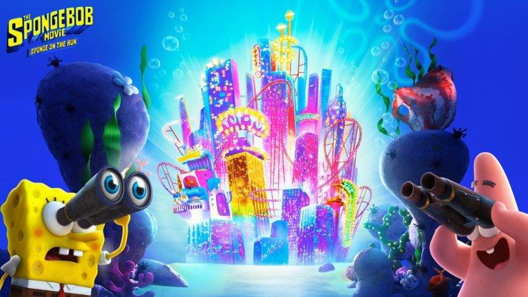 Spongebob Zoom background