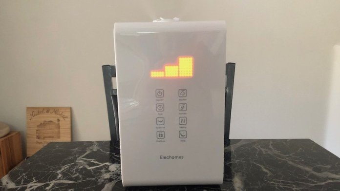 ELECHOMES HUMIDIFIER REVIEW | Elechomes Cool & Warm Mist