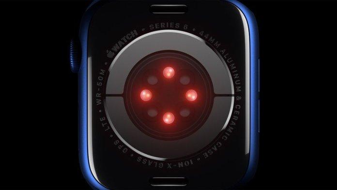 Apple Watch Series 6 Sensors