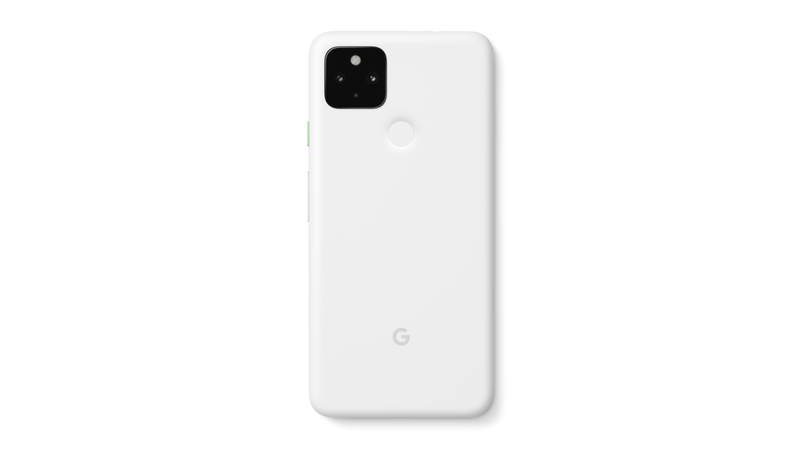Pixel 4a 5G Clearly White