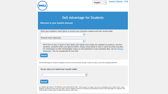 How to get Dell student discount: Advantage site