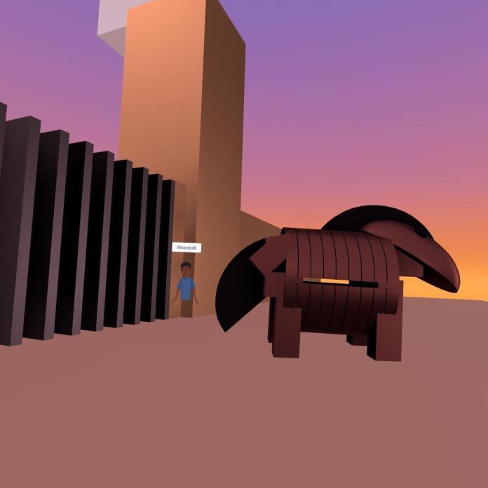 A Trojan Horse in Facebook Horizon.