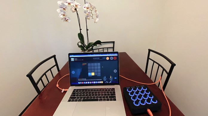An example of what a beginners Midi Fighter setup might look like