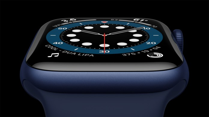 The Apple Watch Series 6 keeps the always-on display. The Apple Watch SE doesn't have it.