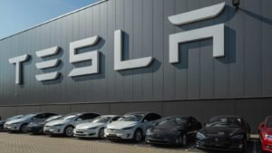 Tesla Motors Assembly Plant in Tilburg, Netherlands.