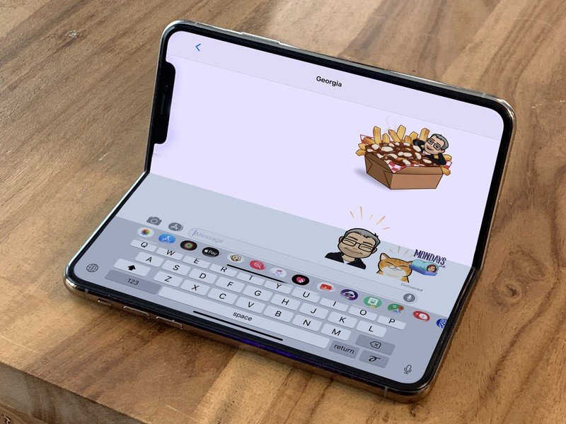 Fold iPhone concept