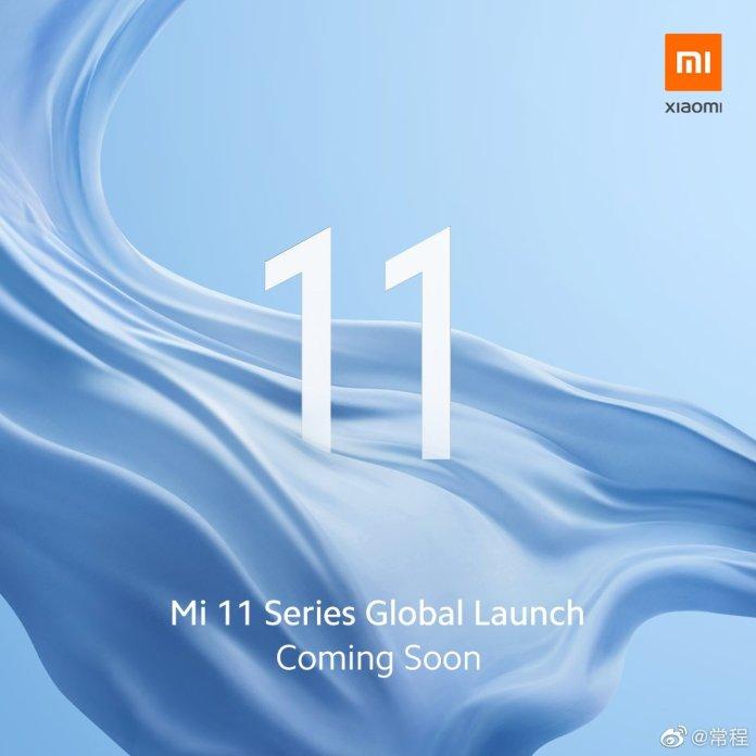 Xiaomi Mi 11 Global Launch Teaser