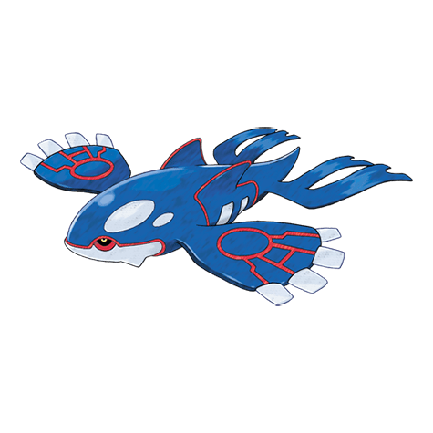Pokemon 382 Kyogre