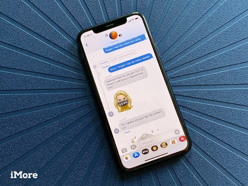 Ios 14 Messages Groups Inline Replies Mentions