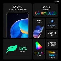 E4 AMOLED panel with DCI-P3 and HDR10+