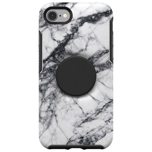 OtterBox Symmetry Otter + Pop Fitted Hard Shell Case for iPhone SE. Image via Best Buy.