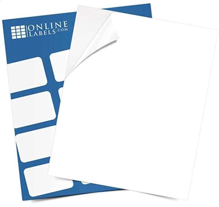 Online Labels Sticker Paper Render Cropped