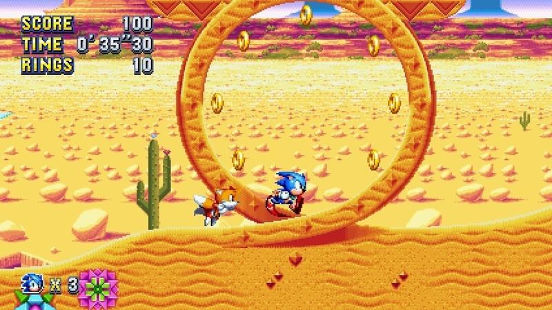 Sonic Mania Switch Screenshot