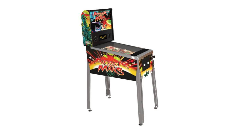 Arcade1Up Attack on Mars Pinball machine
