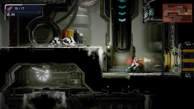 Metroid Dread Running
