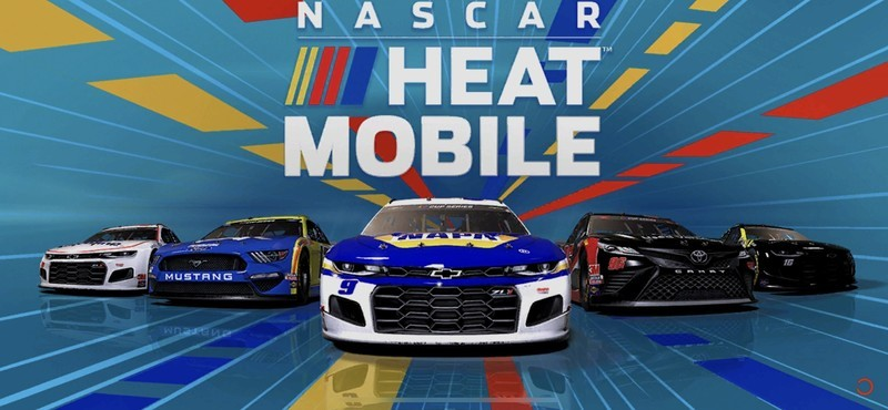 Nascar Heat Mobile Title Screen