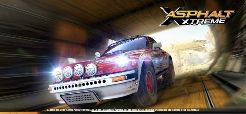 Asphalt Xtreme Title Screen