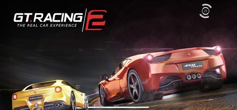 GT Racing 2 Title Screen