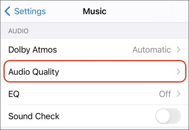 Apple Music Audio Quality