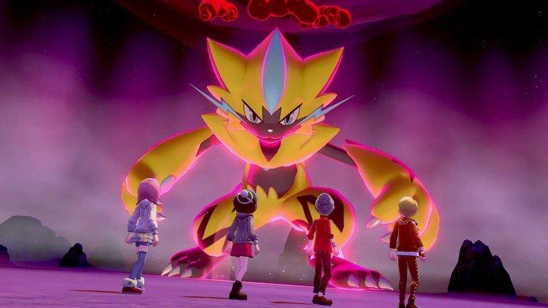 Zeraora Pokemon Sword Shield Raid Den