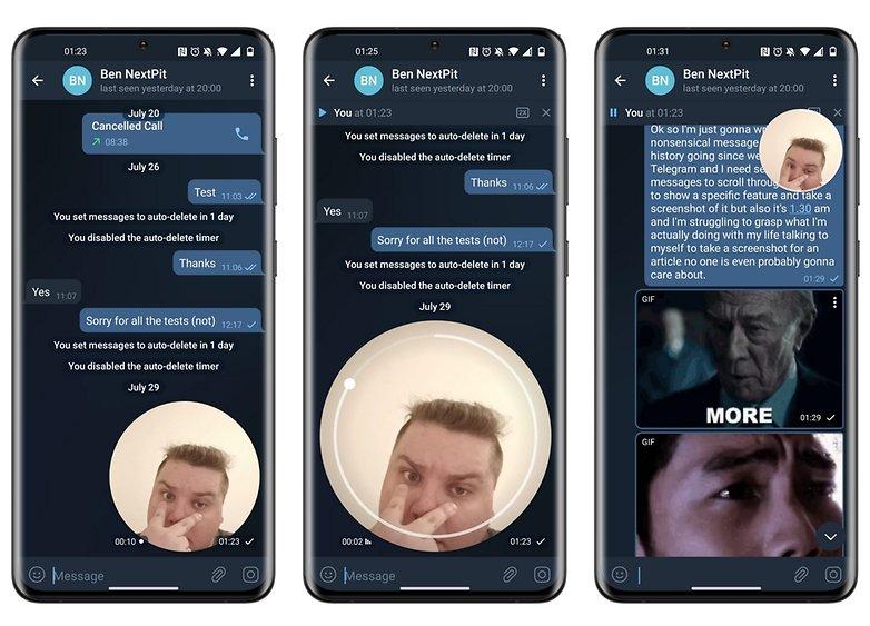telegram beta 7 9 0 new feature video message player