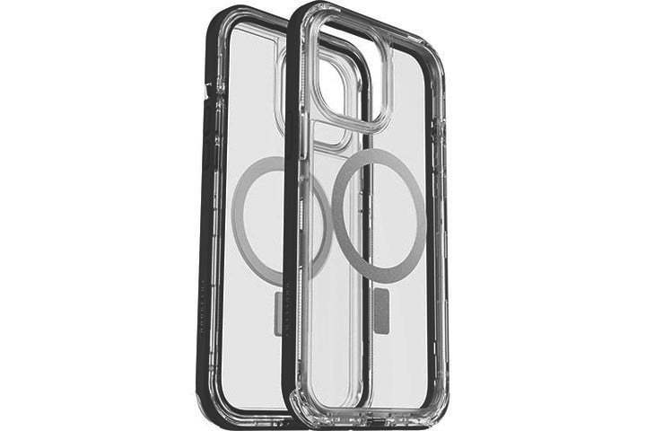 LifeProof Next Antimicrobial Case for iPhone 13 Pro Max in black and clear.