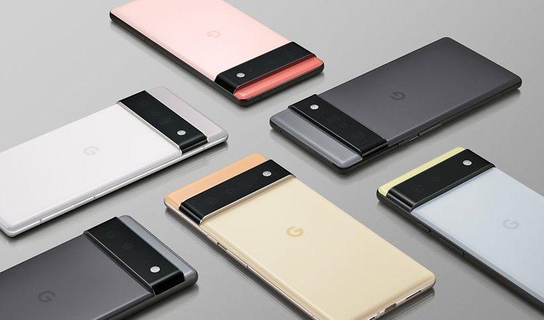 Google Pixel 6 Portfolio