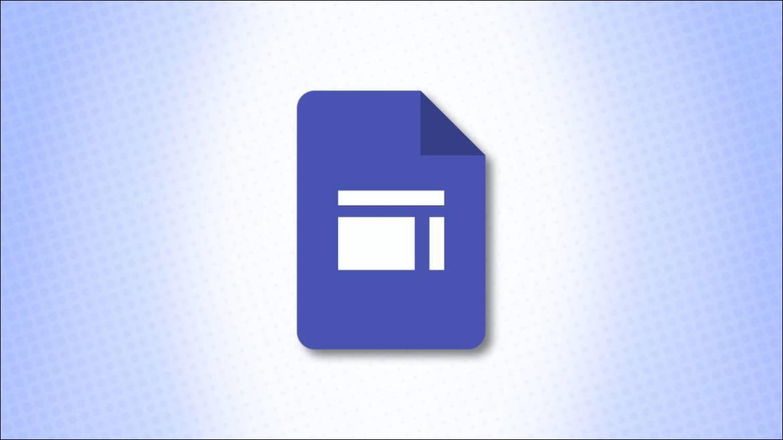 Google Sites Logo on a blue background
