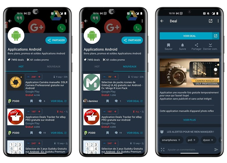 how to find free apps dealabs