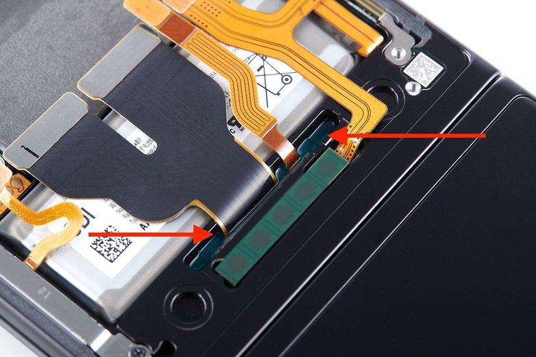 Samsung Galaxy Z fold 3 fluid