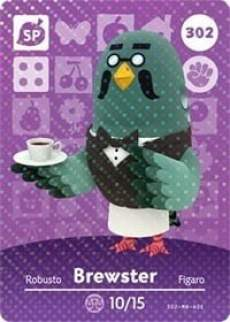 Brewster Amiibo Card Render