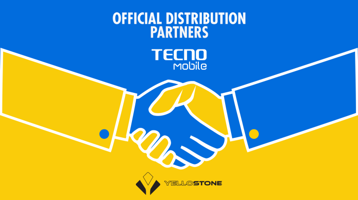TECNO Mobile HAS A NEW OFFICIAL DISTRIBUTION PARTNER; THE YELLOSTONE