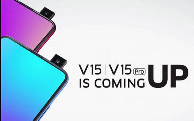 Vivo V15 Pro will have 32MP Selfie pop-up camera