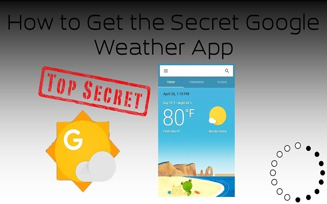 Get the Google Weather App on Your Smartphone