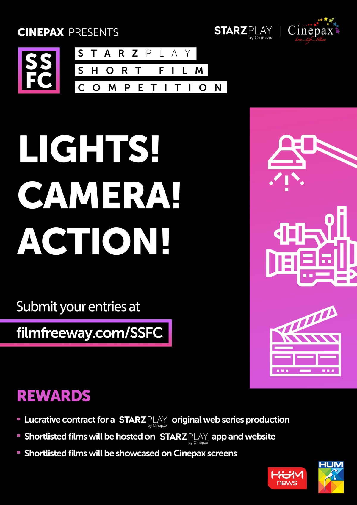 STARZ PLAY Short Film Competition