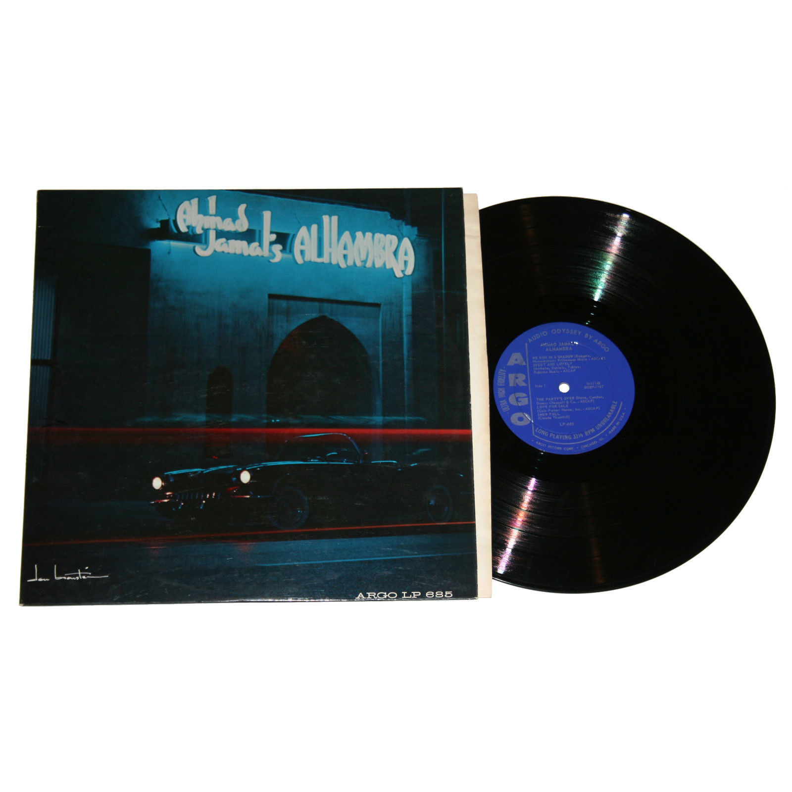 Alhambra is a live album featuring performances recorded at Ahmad Jamal's own club in Chicago in 1961.