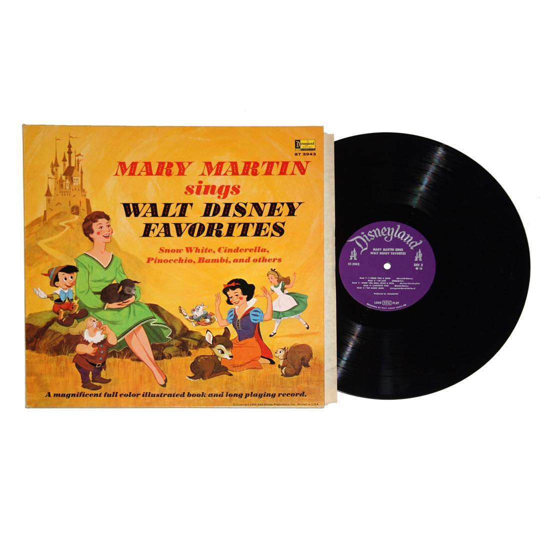 Mary Martin Sings Walt Disney Favorites